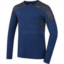 Pánské funkční triko Husky Active Winter long Velikost: M / Barva: modrá