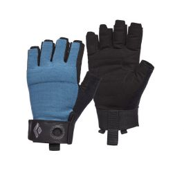 Pánské rukavice Black Diamond Crag Half-Finger Gloves Velikost rukavic: XS / Barva: modrá