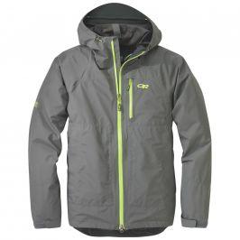 Pánská bunda Outdoor Research Men's Foray Jacket Velikost: M / Barva: šedá/žlutá