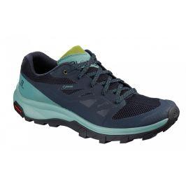 Dámské boty Salomon Outline GTX W Velikost bot (EU): 37 (1/3) / Barva: modrá
