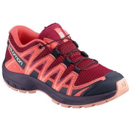 Dětské boty Salomon XA Pro 3D J Dětské velikosti bot: 33 / Barva: červená/růžová
