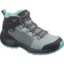Dětské boty Salomon Outward Cswp J Velikost bot (EU): 36 / Barva: šedá