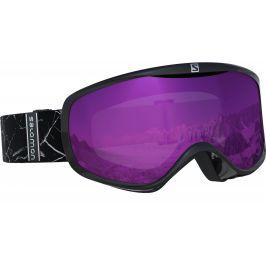 Lyžařské brýle Salomon Sense Black Marble Ruby Barva obrouček: černá