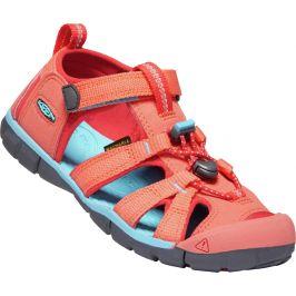 Dětské sandály Keen Seacamp II CNX JR Dětské velikosti bot: 35 / Barva: oranžová
