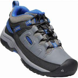 Dětské boty Keen Targhee Low Wp Dětské velikosti bot: 35 / Barva: šedá