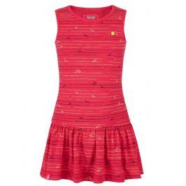 Šaty Loap Barisa Dětská velikost: 112-116 / Barva: červená