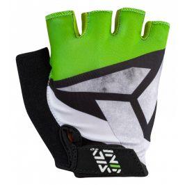 Juniorské cyklorukavice Silvini Ose CA1437 Velikost rukavic: 11-12 / Barva: černá/zelená