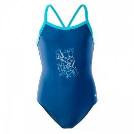 Dívčí plavky Aquawave Velanti Jr Dětská velikost: 140 / Barva: modrá