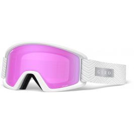 Lyžařské brýle Giro Dylan White Zag (2 skla) Barva obrouček: bílá