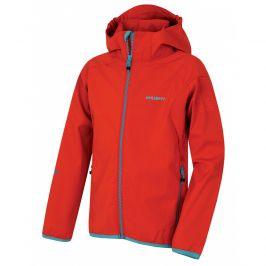 Dětská softshellová bunda Husky Zally K Dětská velikost: 164-170 / Barva: červená