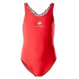 Dětské plavky Aquawave Tokyo Tajimi Jr Dětská velikost: 140 / Barva: červená