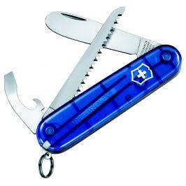Nůž Můj první Victorinox s pilkou modrý