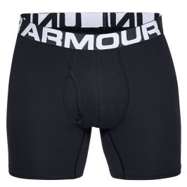 Boxerky Under Armour Charged Cotton 6in 3 Pack Velikost: M / Barva: černá
