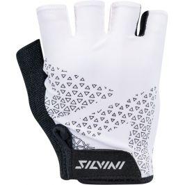 Dámské cyklo rukavice Silvini Aspro WA1640 Velikost rukavic: S / Barva: bílá