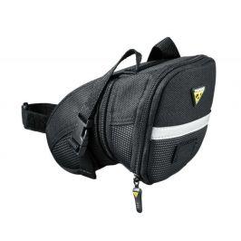 Podsedlová brašna Topeak Aero Wedge Pack Large pásky Barva: černá