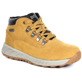 Dětské boty Regatta Grimshaw Suede Md Dětské velikosti bot: 30 / Barva: šedá