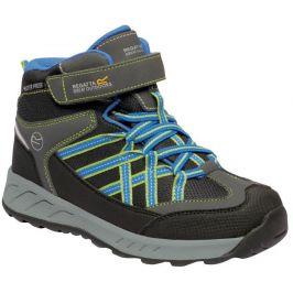 Dětské boty Regatta Samaris V Mid Jnr Dětské velikosti bot: 28 / Barva: šedá/modrá
