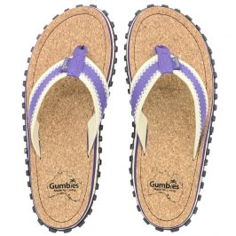 Žabky Gumbies Corker Natural Cork - Purple Velikost bot (EU): 36 / Barva: fialová