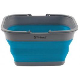 Skládací koš Outwell Collaps Crater w/handle Barva: Turquoise blue