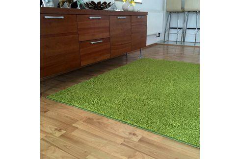 Vopi Koberec SHAGGY zelený 60 x 110 cm Koberce a koberečky