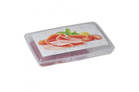 FAVE Plastová dóza na salám 24 x 17 x 3,5 cm Dózy na potraviny