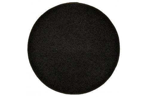 Vopi Kulatý koberec SHAGGY antracit průměr - 120 cm Koberce a koberečky