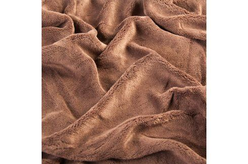 Svitap Napínací prostěradlo mikroplyš, 90x200 nebo 180x200 tmavě hnědá 180 x 200 cm Prostěradla