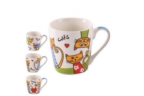 Orion Keramický hrnek Psi a kočky 0,3 l Hrnky a šálky