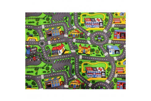 Vopi Dětský koberec MĚSTO 80 x 120 cm Koberce a koberečky
