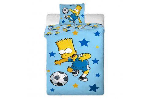 Jerry Fabrics Povlečení Simpsons Bart blue 140x200 70x90 Ložní povlečení