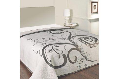 Forbyt Přehoz na postel DOMINIC BLACK 90 - 100 x 200 cm Přehozy
