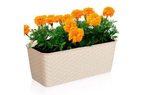 VETRO-PLUS Truhlík samozavlaž.30 cm krém Květináče a truhlíky
