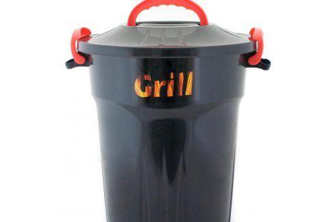 VETRO-PLUS Úložný box na dřevěné uhlí 25 l 556725 Grilovací nářadí