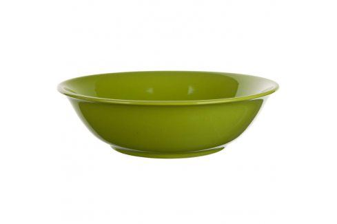 BANQUET Keramická mísa 24,5 cm hráškově zelená Mísy a misky