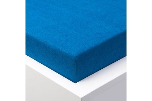 Hermann Cotton Napínací prostěradlo froté EXCLUSIVE královská modrá 90 - 100 x 200 cm Prostěradla froté