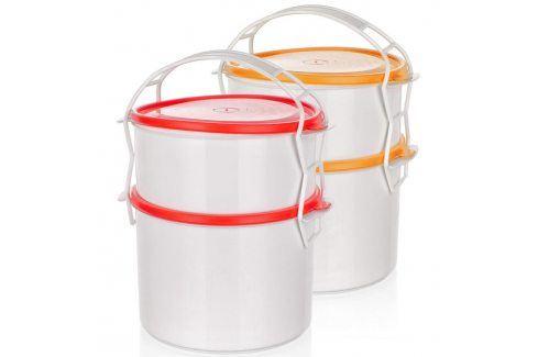 BANQUET 2-dílný plastový jídlonosič APETIT Jídlonosiče