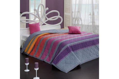 BedTex Tip Trade Přehoz na postel Susan fialový Přehozy