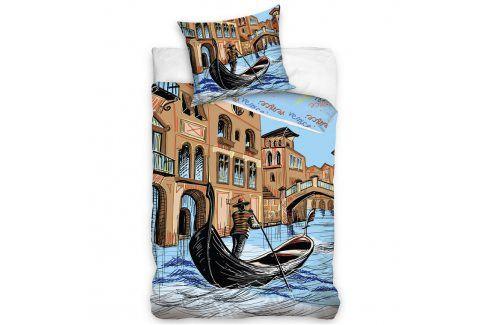 Tip Trade Bavlněné povlečení Venice  povlečení Benátky 140 x 200 cm, 70 x 90 cm Ložní povlečení