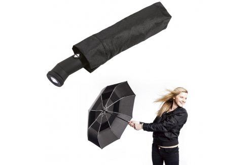 Skládací deštník odolný proti větru Deštníky