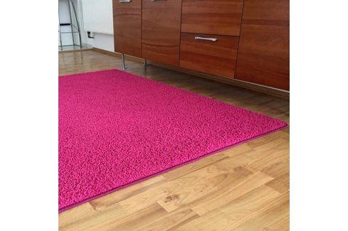 Vopi Koberec SHAGGY růžový 120 x 170 cm Koberce a koberečky