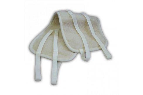 Ovčí věci Oboustranný ledvinový pás z ovčí vlny Zdravotní bandáže a ortézy