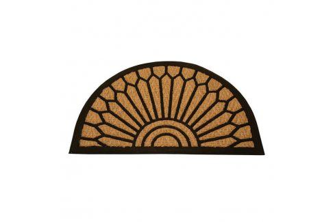 Kokosová rohožka Exotic půlkruh Koberce a koberečky