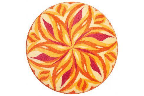 Vopi Koberec s protiskluzovou úpravou Mandala Tančící obloha průměr 100 cm Koberce a koberečky