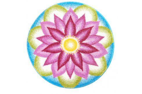 Vopi Koberec s protiskluzovou úpravou Mandala Porozumění průměr 100 cm Koberce a koberečky