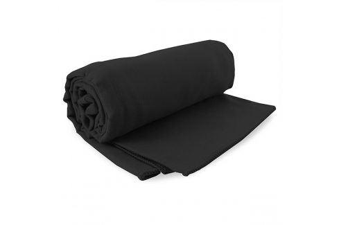Sada rychleschnoucích ručníků Ekea černá Set černá Plážové doplňky