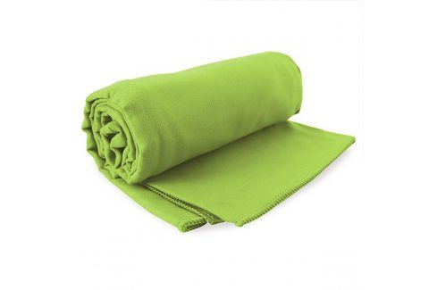 Sada rychleschnoucích ručníků Ekea zelená Set zelená Plážové doplňky