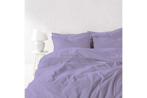 Povlečení Stonewash fialové 140x200 jednolůžko - standard bavlna Luxusní povlečení