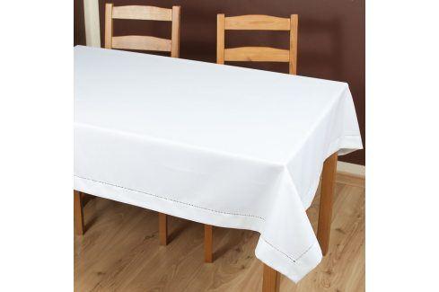 Ubrus Anna bílý 110x160 cm polyester Ubrusy