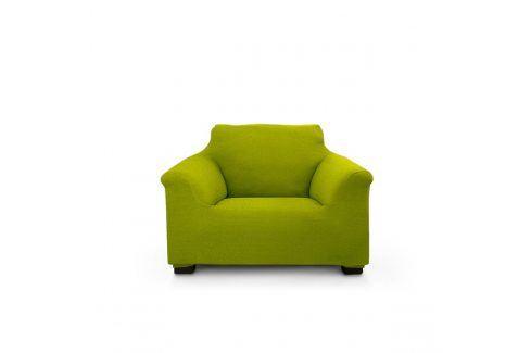 Potah na křeslo Elegant zelený 70-110 cm zelená Potahy na křesla