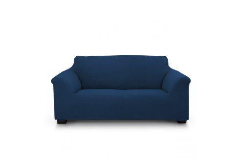 Potah na dvojkřeslo Elegant modrý 130-180 modrá Potahy na pohovky